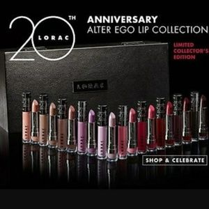 Lorac 20th Anniversary Alter Ego Lip Collection
